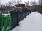 Забор из профлиста_1