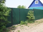 Забор из профлиста_9